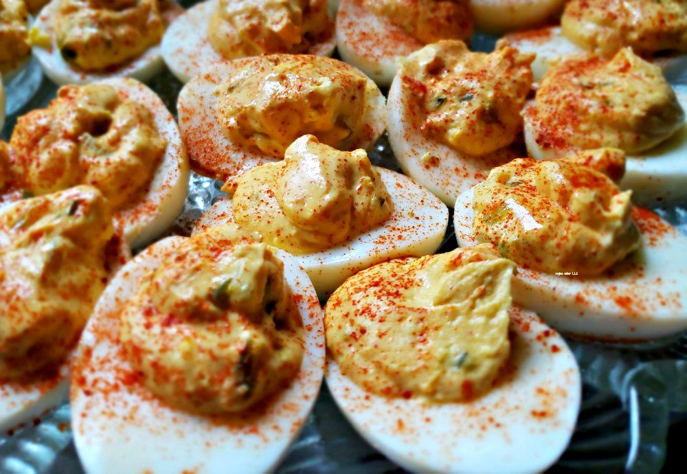 Looking for a quick and easy appetizer to serve? Make this delicious deviled egg recipe. It's inexpensive to make and makes a great sandwich if you have left overs - eattravellife.com