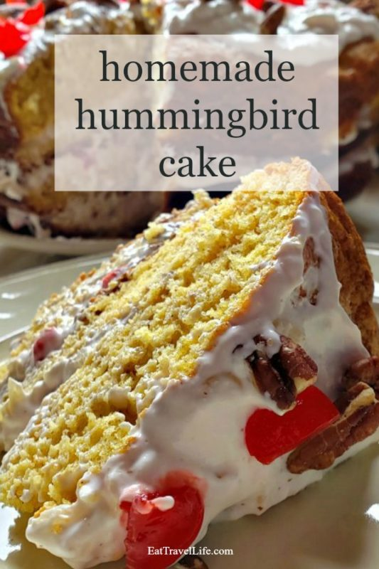 Want to make a fun cake with a unique name? Check out how to make a hummingbird cake. An old fashion recipe to enjoy at your next family party.