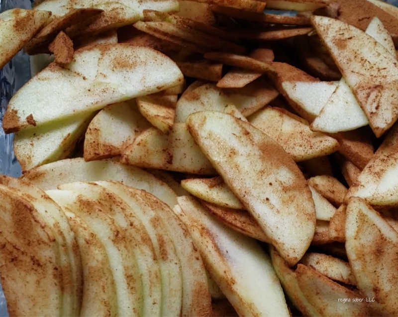 spiced cinnamon apples
