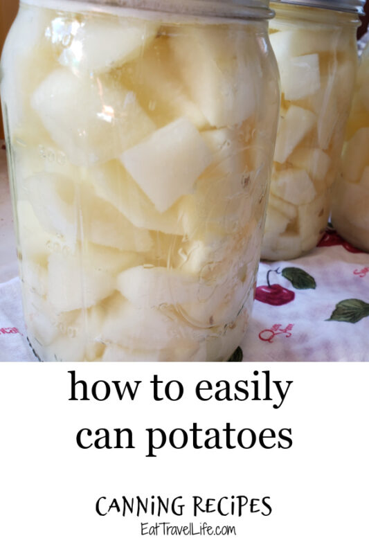 Got a lot of potatoes? We've got a solution! Learn how you can easily can potatoes for use all year.