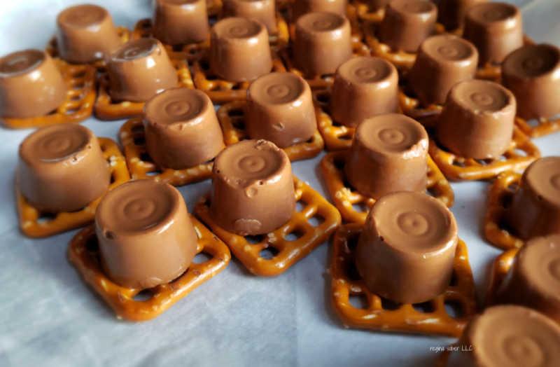 melted caramels