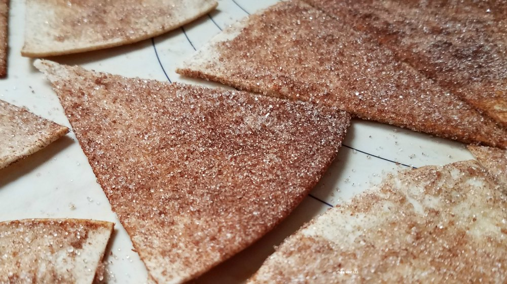 Delicious and simple, homemade cinnamon tortillas. So simple and easy to make - eattravellife.com