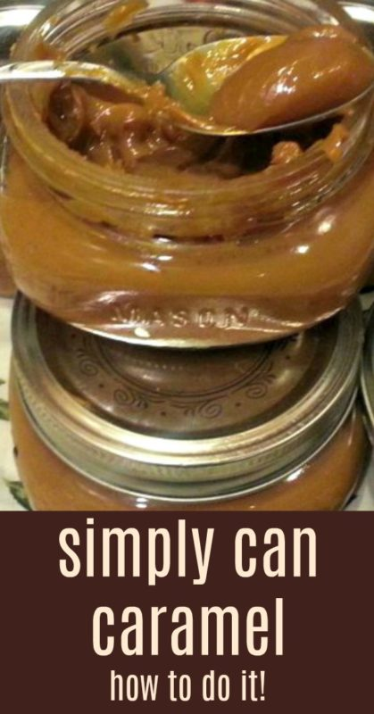 Making your own caramel with your slow cooker. Did you know you could do that? Find out how to you can set it and forget it.