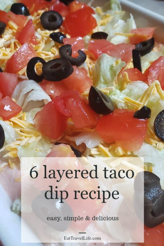 Need a cool and tasty dish for your next event? When you have an event. You can make a simple an easy layered taco dip.Let's Taco bout it!