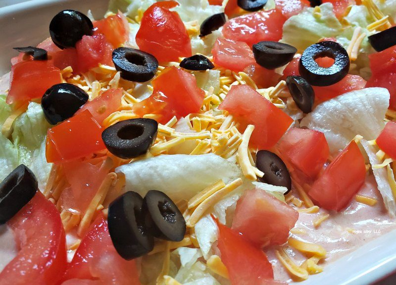 6 layered taco dip recipe