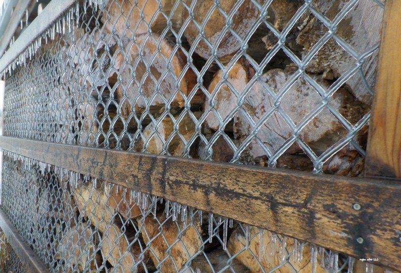 winter storm survival tips heat source wood