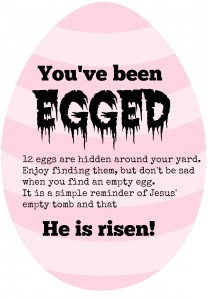 Egg your family and friends as a reminder of Christ during Easter.|eattravellife.com