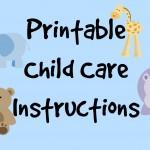 printablechildcare