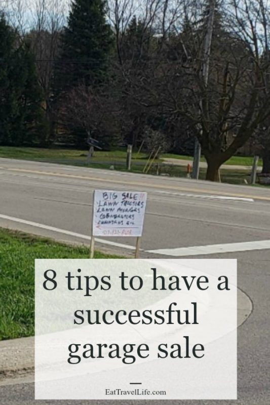 8 must read garage sale tips for a success garage sale. Use these tips on garage sale success without weeks of having no sales at your event.