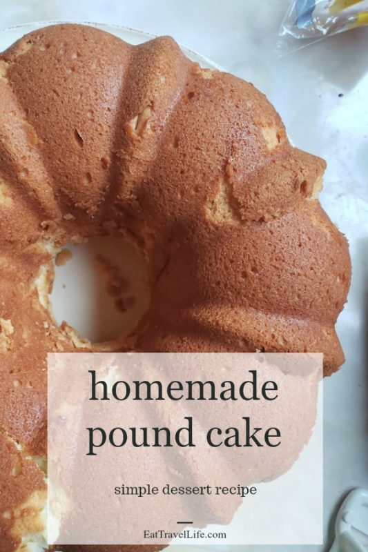 Love homemade desserts? Your friends will be amazed at the delicious homemade pound cake recipe. Made simply with a few ingredients. And love.