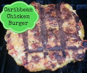 Caribbean Chicken Burger
