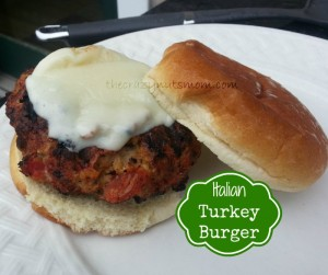 ItalianTurkey Burger