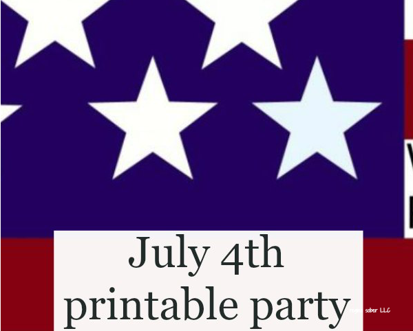 free printable independence day invitation