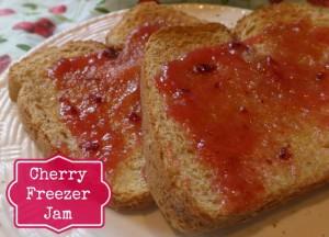 Freezer Jam Cherry