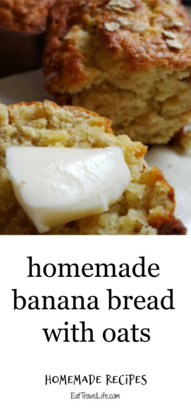 Perfect for breakfast and a snack, oatmeal banana bread is so delicious. Make the perfect mini loaves with these easy banana bread recipe.