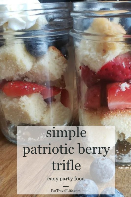 Looking for a easy recipe to bring to parties this Summer? You need to check out this easy berry trifle recipe. Fruit, cake and lots of yummy bites.