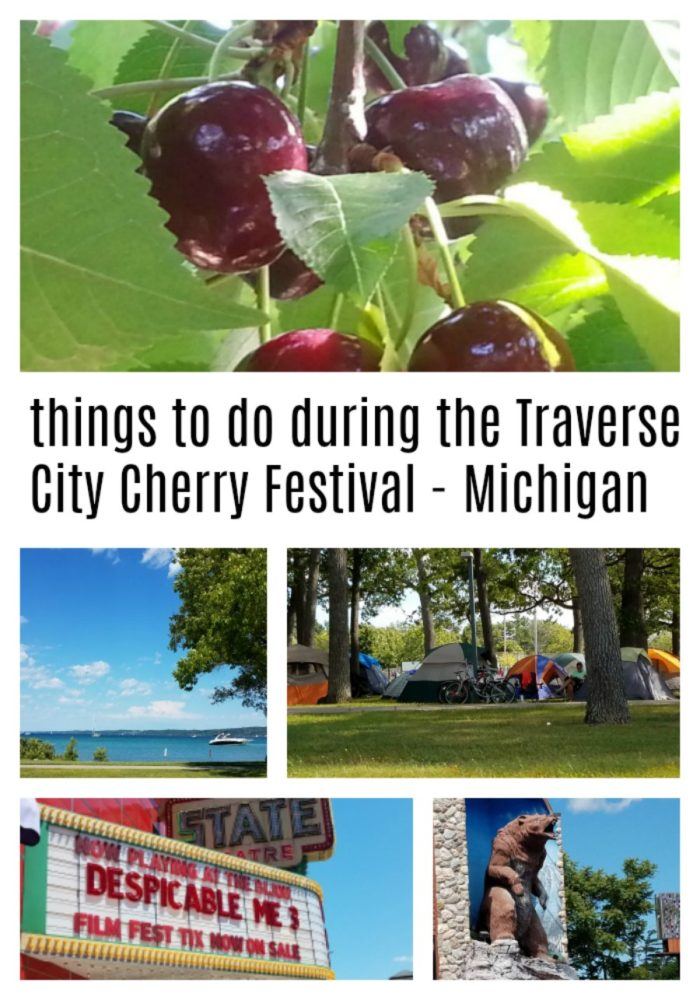 Visit Travese City during the National Cherry Festival held in July. Lots to see and do!