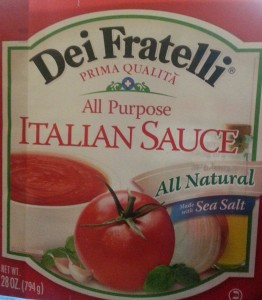 Secrets in the Sauce Dei Fratelli Italian Sauce Review