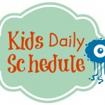 Print this daily schedule for your kids to get the routine done in the morning and before bed.| eattravellife.com
