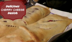 Delicious cherry cheese danish for breakfast recipe