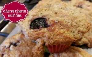 Sweet Michigan cherry muffins are great for breakfast, snacks and treats to take when visiting friends. | eattravellife.com
