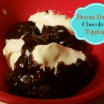 Looking for a easy topping for your ice cream? Try this peanut butter chocolate topping. Two ingredients and a minute in the microwave and you are done!| eattravellife.com