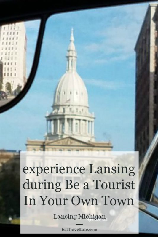 So much to see in do in Greater Lansing Michigan. One day a year you get to experience over 70 different activities A great way to see the city for $1. Be A Tourist In Your Own Town