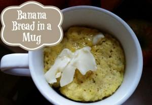 Simple Mug Banana Bread recipe
