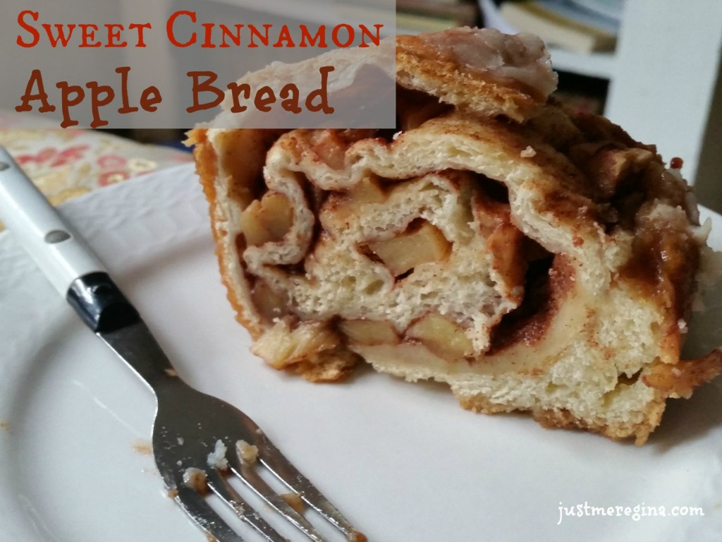 Sweet cinnamon apple bread made with delicious apples. Perfect for a snack or gift.| eattravellife.com