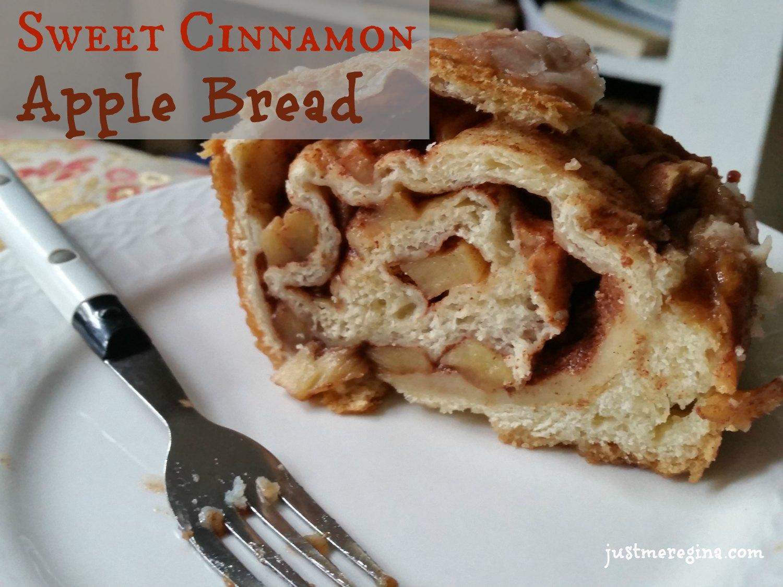 Sweet Cinnamon Apple Bread #recipe