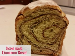 Sweet Cinnamon Apple Bread recipe