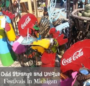 odd unique Michigan festivals