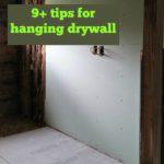 dry wall hang tips