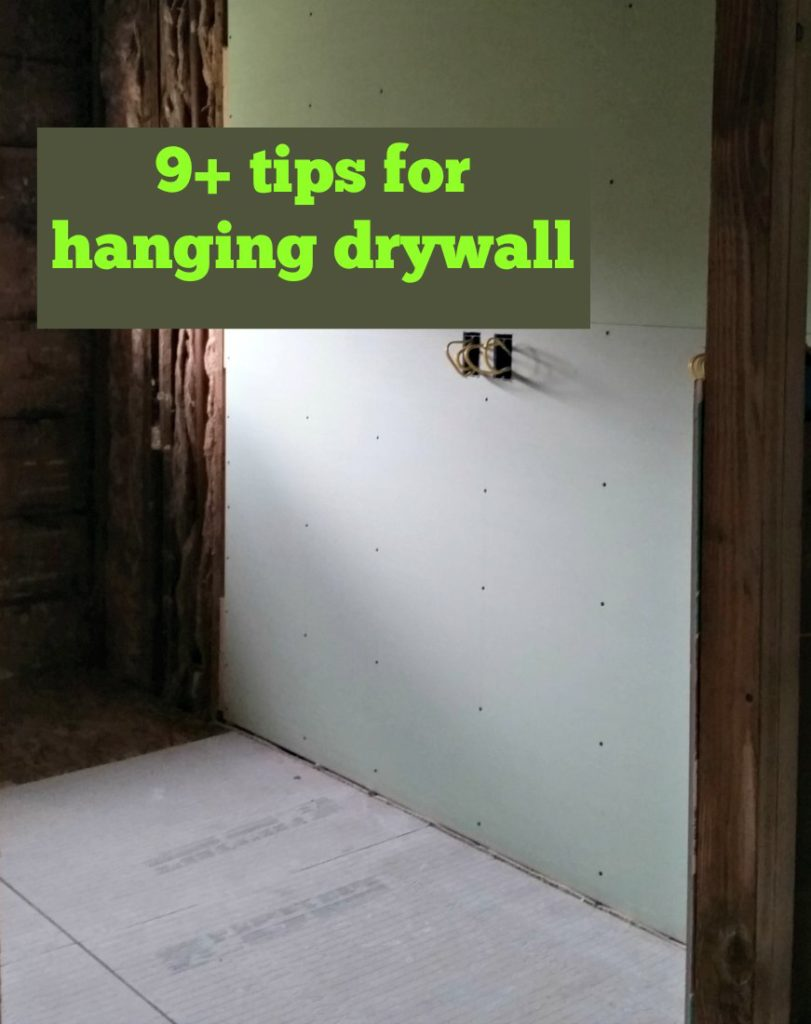 if you are a beginner builder or think you know what to do, check out these tips on hanging drywall tips to learn from our mistakes. | eattravellife.com