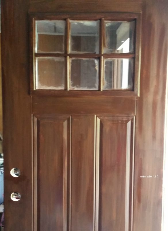 Stain Metal Door To Look Like Wood Eat Travel Life