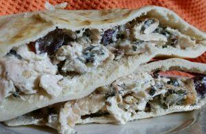 Chicken salad pita pockets made easy with La Terra Fina®