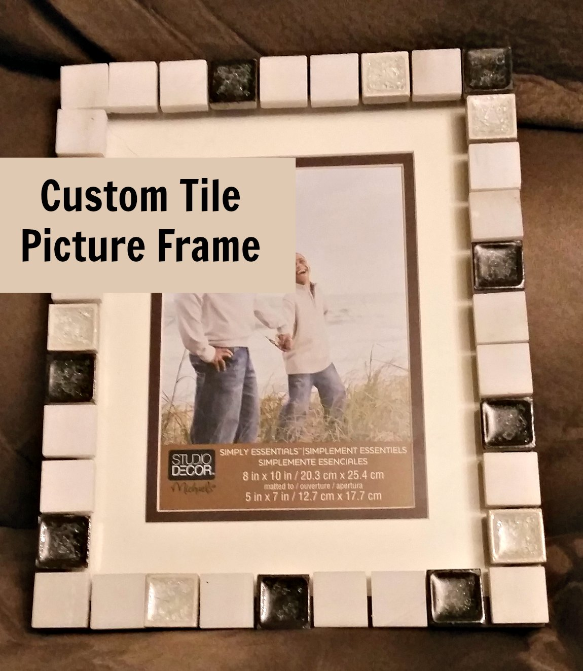 Diy Make Customer Tile Picture Frames Eat Travel Life