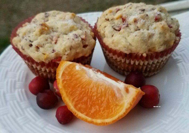 Cranberry orange muffins are delicious and fun to make for the Fall and Thanksgiving events you have going on.