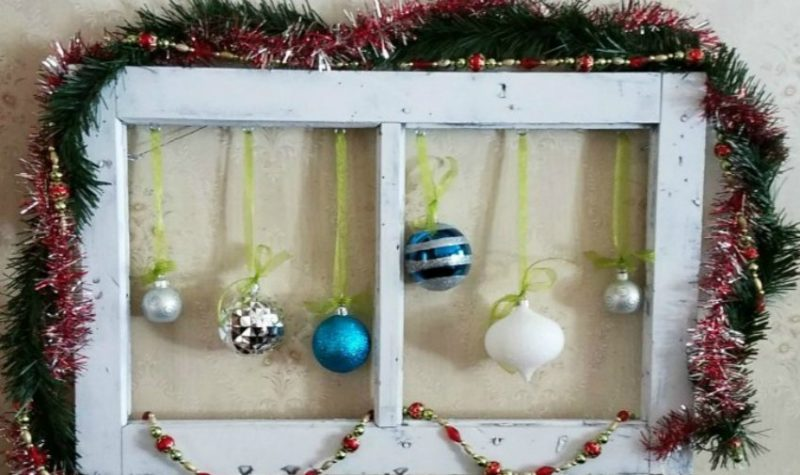 This window frame decorations project is perfect for Christmas, Halloween, Fall, Spring and really whatever you want to display on it.