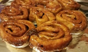 Cast iron cinnamon rolls recipe
