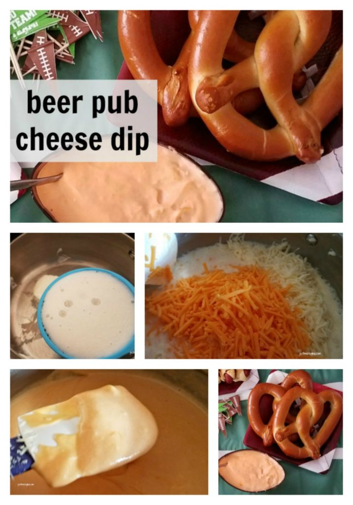 Beer cheese dip is great to serve at parties and man events. Perfect to watch the game with friends. Football, basketball, baseball. Serve with pretzels or on hot dogs