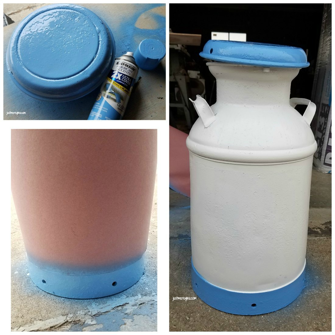 Vintage Milk Can Restoration Project Diy - Eat Travel Life-9620