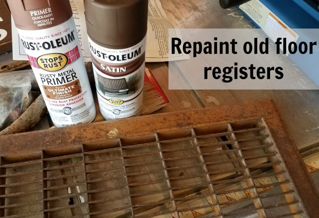 Instead of buying new heat registers, check out how you can repaint heat registers to make them like new. This is helpful when you have odd size heat vent covers. - eattravellife.com