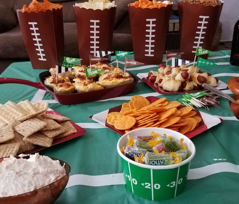 super bowl party decoration ideas