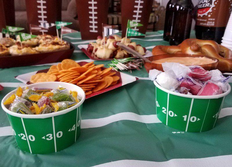 super bowl party decoration ideas