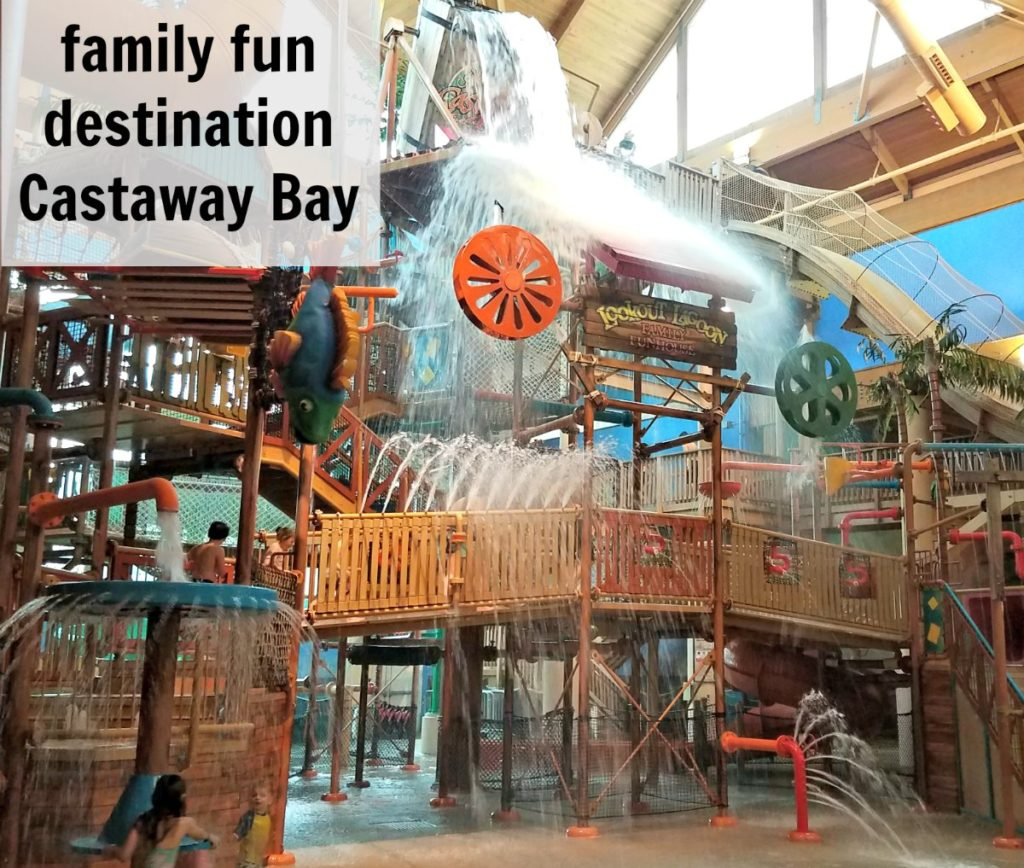 Located in Sandusky Ohio, Castaway Bay indoor Water park is the perfect family fun vacation destination you need to check out. - eattravellife.com