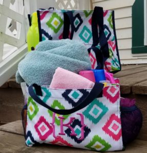 Make gift giving easy for the graduate in your life. Give them a Thirty One Gift bag for graduation. Check out my double gift ideas on how to pack these bags.