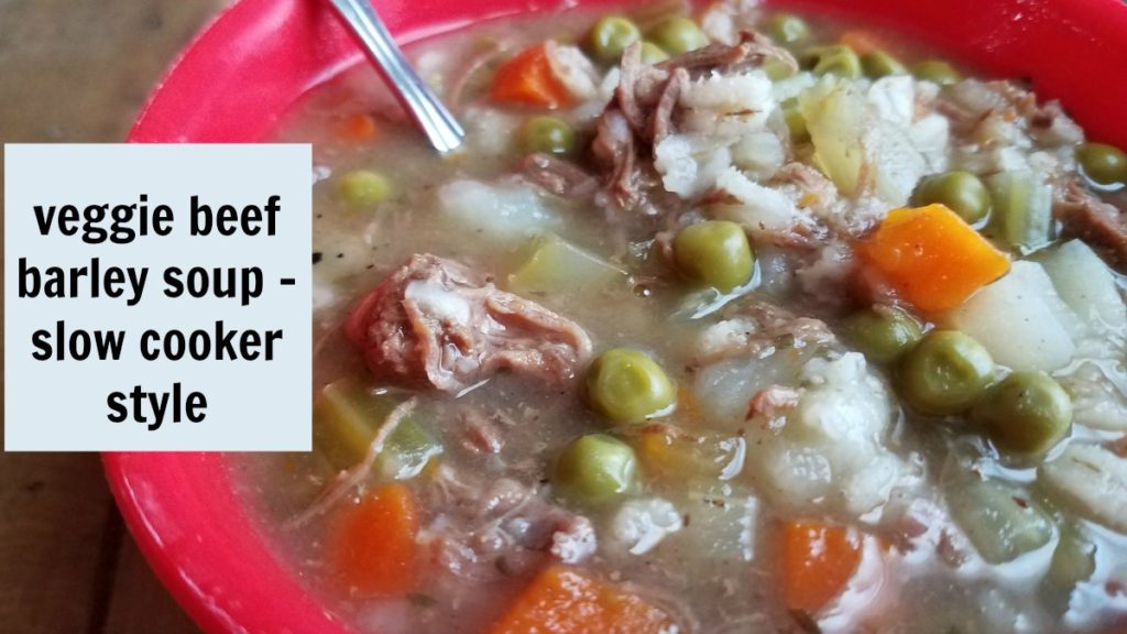 busy day recipes - soup When you don't have a lot of time to cook, time saver meals are the best. Check out this veggie beef barley soup. Make it in the slow cooker to save even more time. - eattravellife.com
