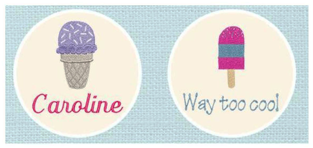 Celebrate National Ice Cream Month or National Ice Cream Day with this adorable print from Thirty-One. You don't have to melt for it, but can enjoy it year round. How will you celebrate? - eattravellife.com