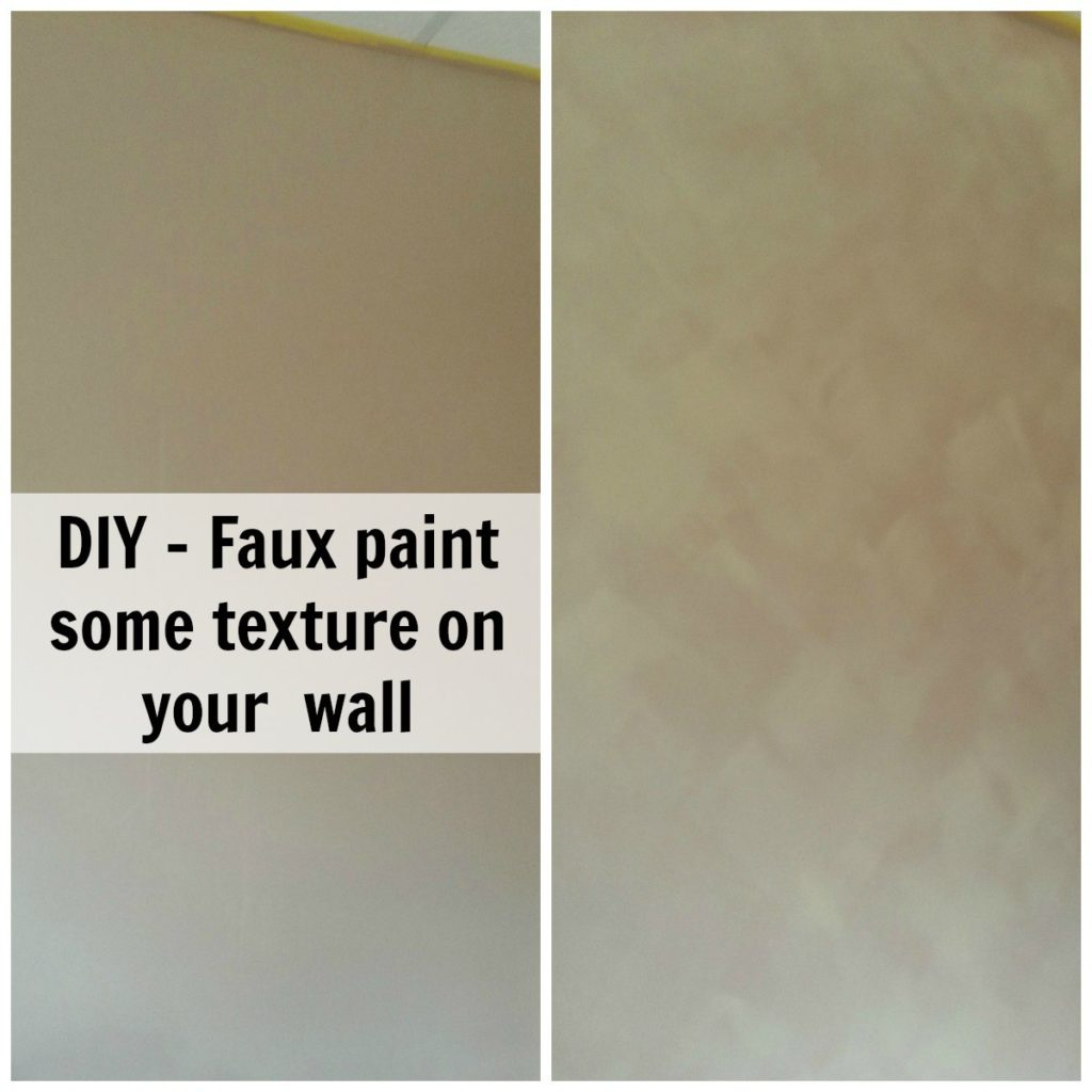 Have you wanted to try faux painting, but weren't sure how to start? Here are my simple steps to faux paint your wall. - eattravellife.com